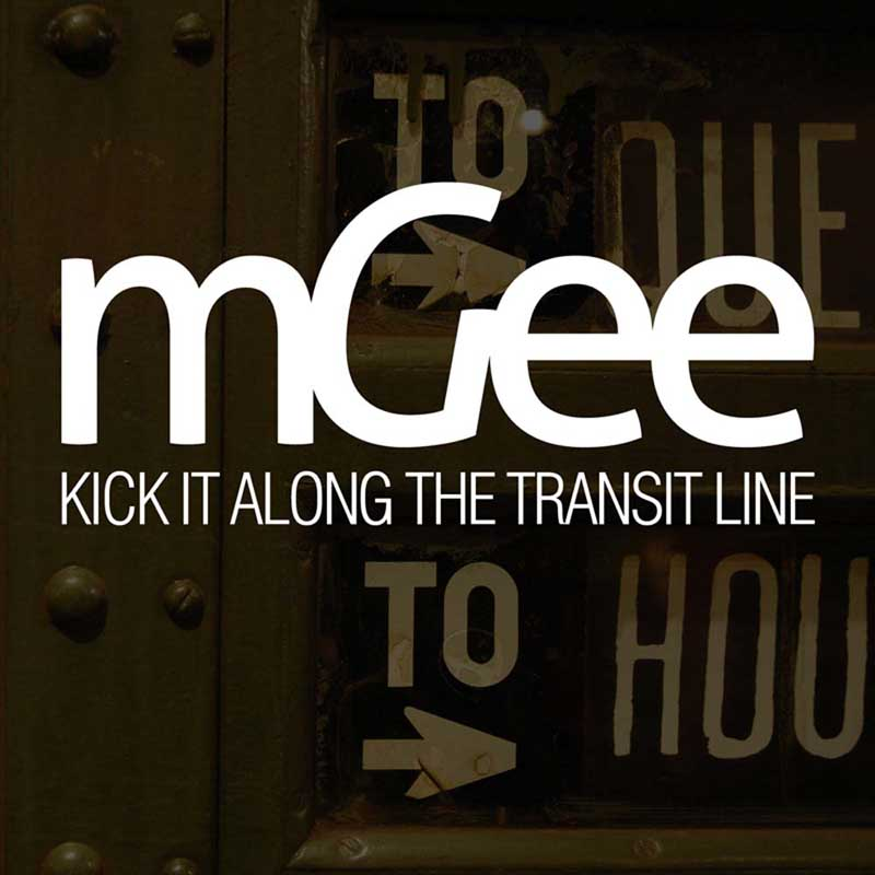Cover of 'Kick It Along The Transit Line' by mGee