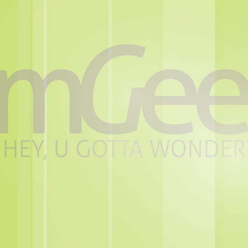 Cover of 'Hey, U Gotta Wonder' by mGee